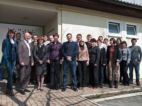 Mrs. Duša Trobec Bučan, Minister Responsible for Local Self-Government and Regional Policy, and Arctur's Nova Gorica team.